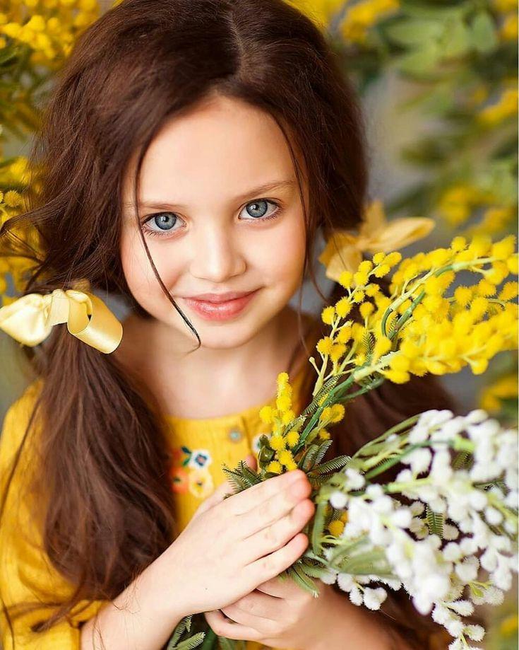 Liza Young Tolmacheva beautiful russian child model